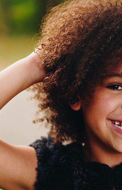 Why do some children wear braces early?